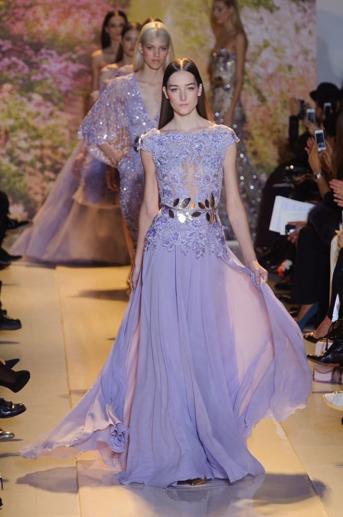 Zuhair Murad purple dress