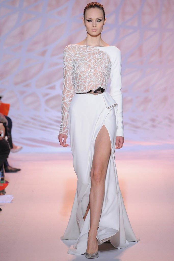 Zuhair Murad white dress