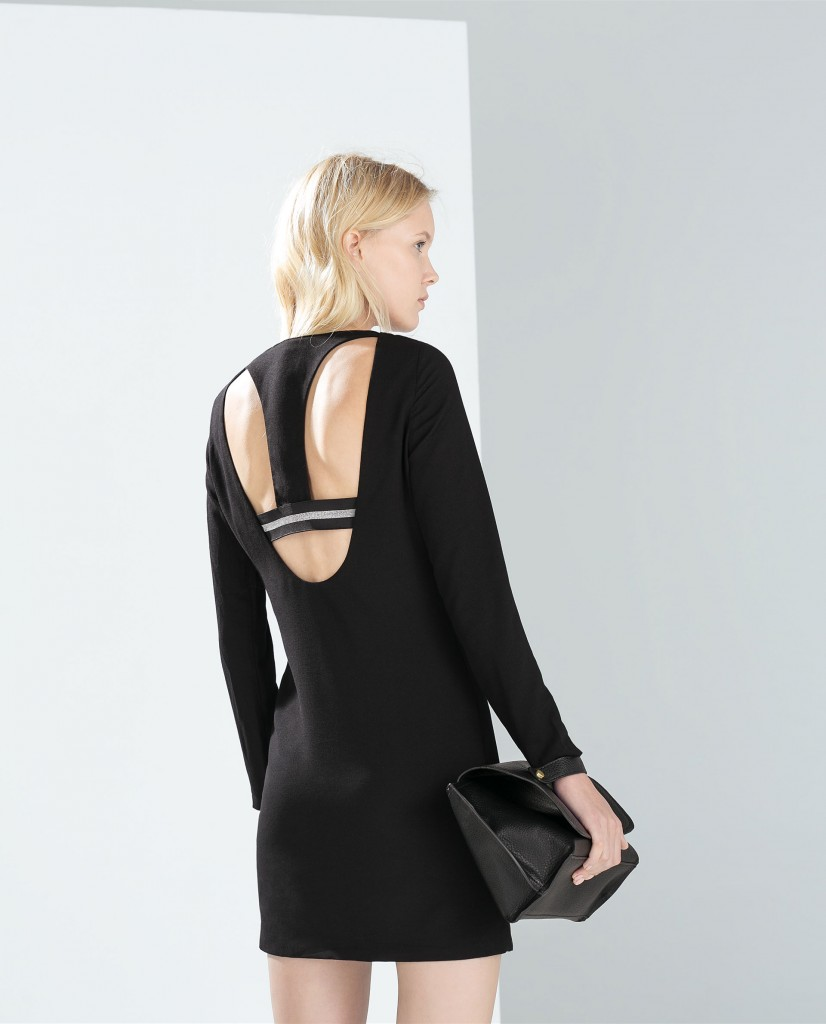 Zara racerback dress