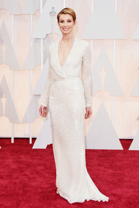 Faith Hill J. Mendel Oscars 2015