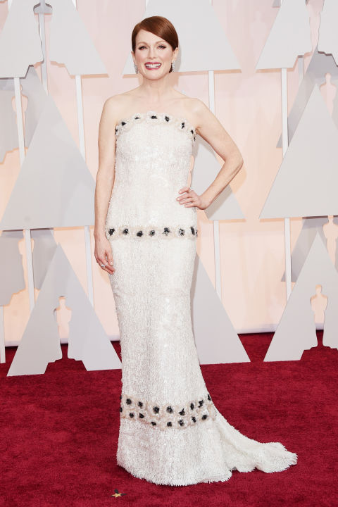 Julianne Moore Chanel Oscars 2015