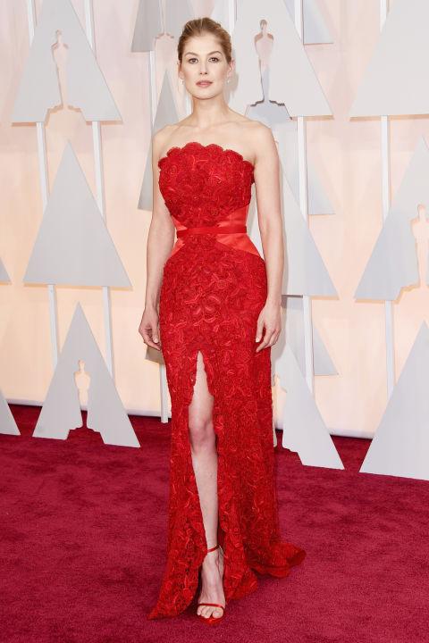 Rosamund Pike Givenchy Oscars 2015