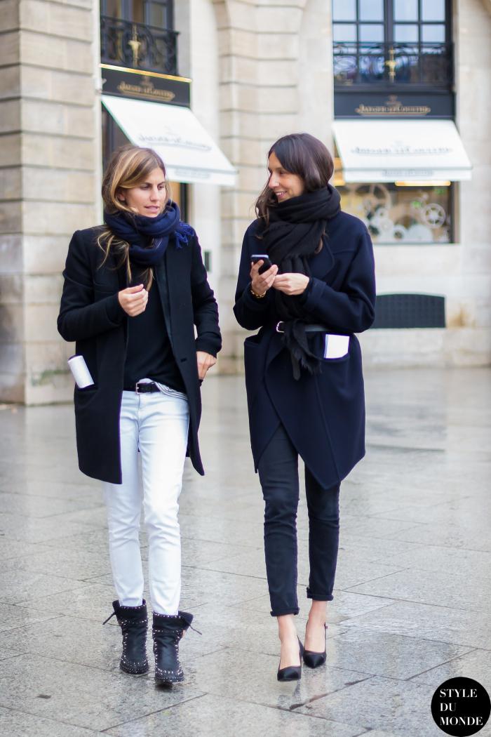 Geraldine Saglio Style The Black Blondie