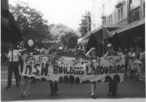NSW_Builders_Labourers_march_on_IWD_1975